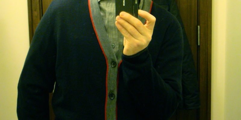 Am I turning into Mr. Rogers?