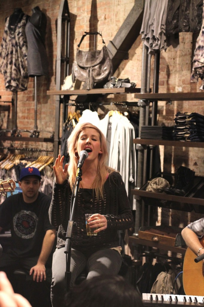 AllSaints Ellie Goulding Concert