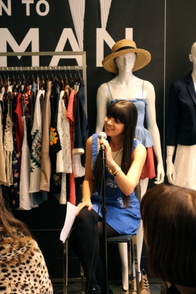 TopShop Writer & Blogger Event - Fashables