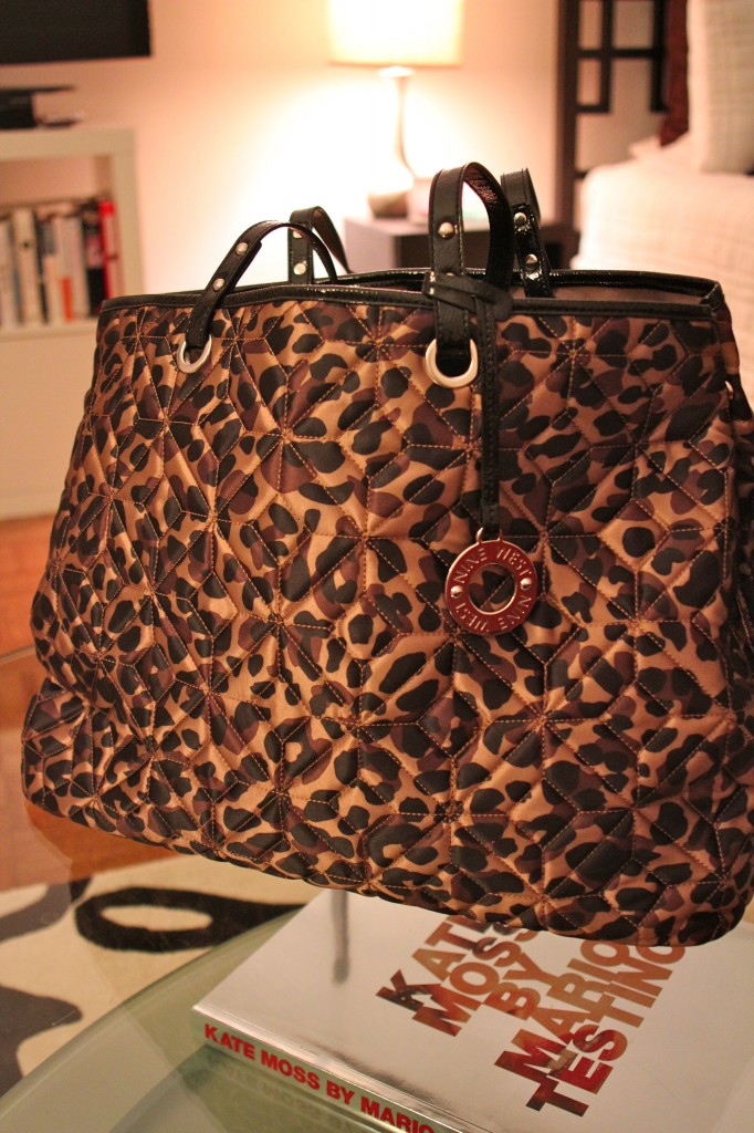 Nine West Leopard Tote