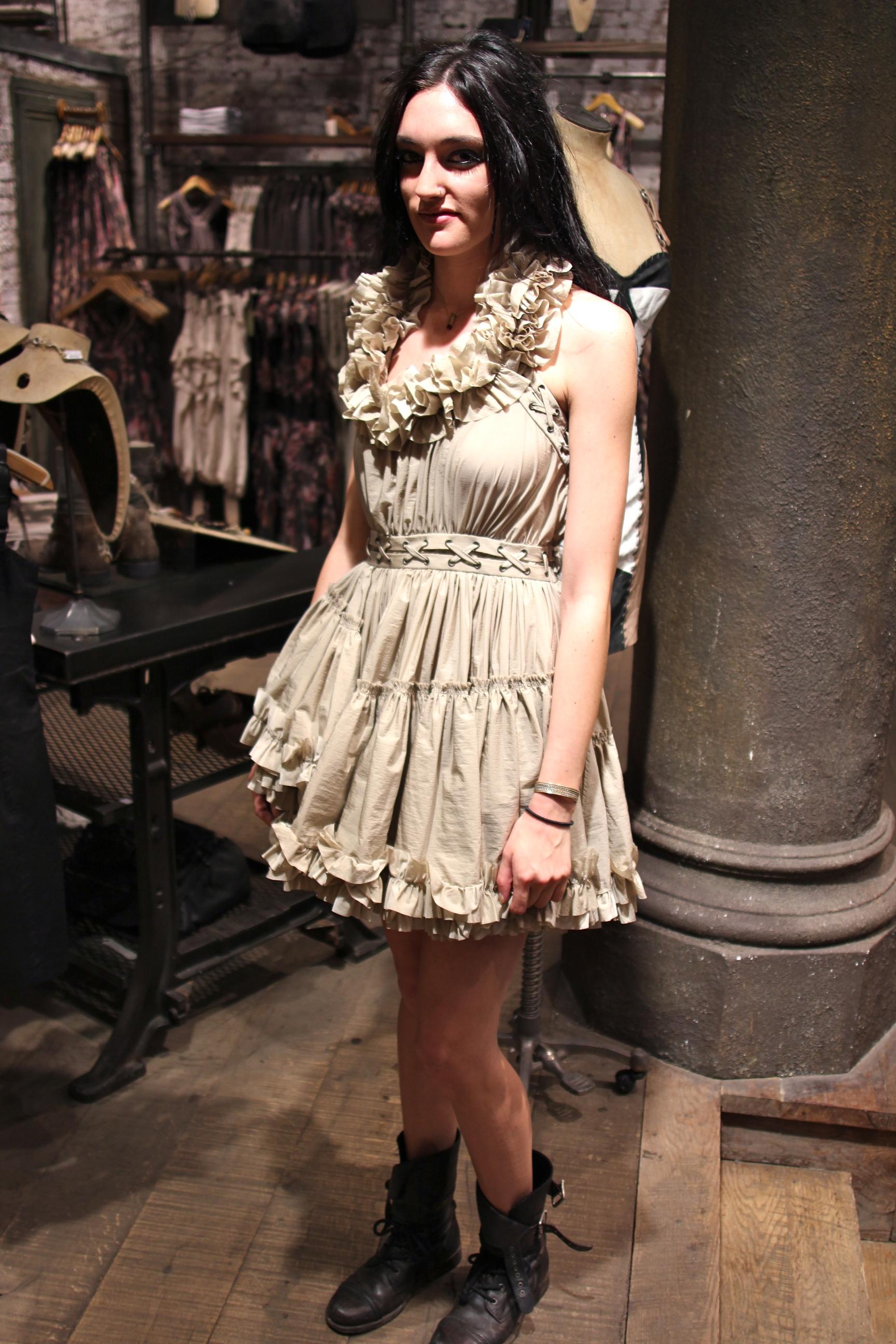 Fashables - AllSaints Allegra Dress 7bf8a962b