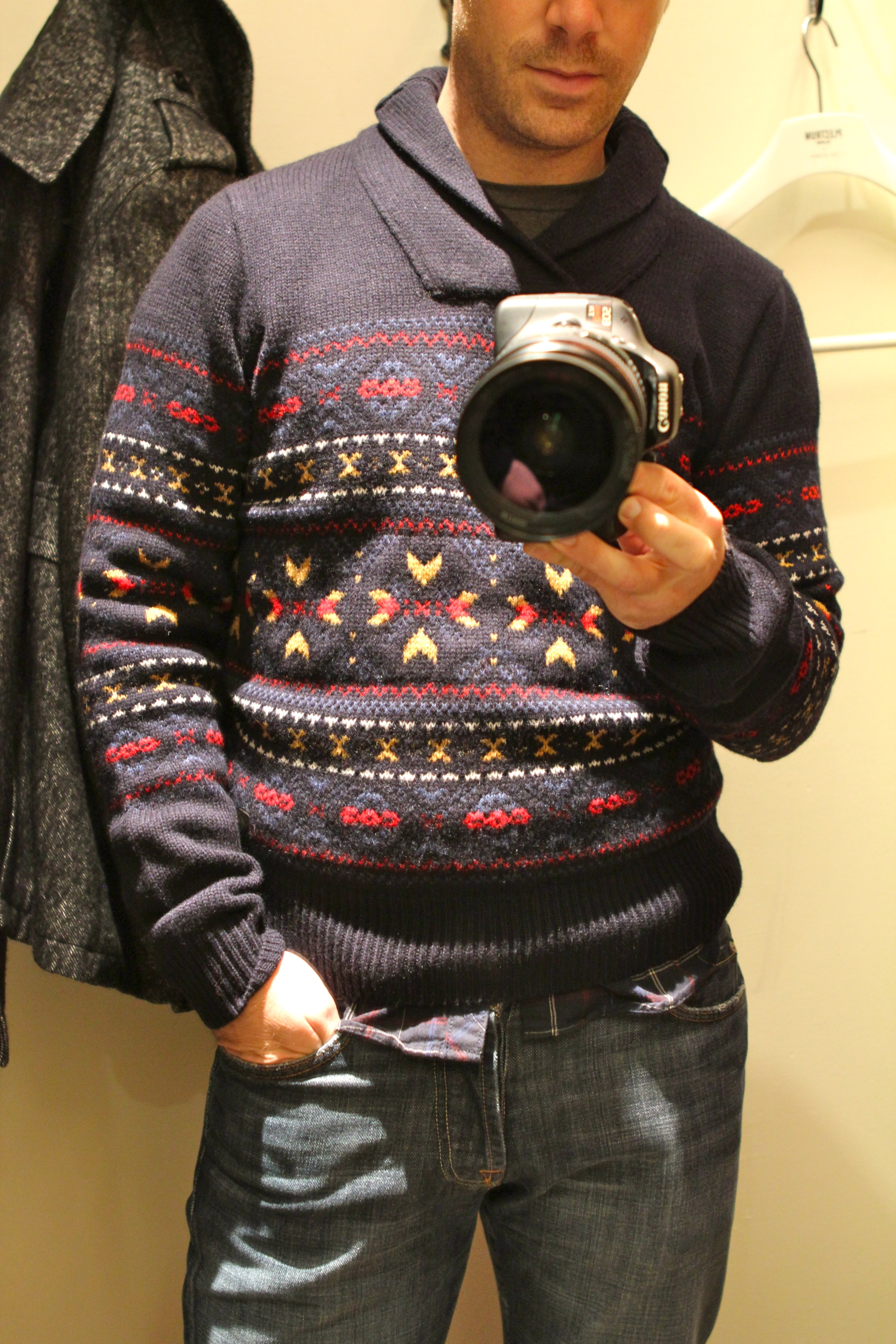 Ugly Christmas Sweater Goes Mainstream