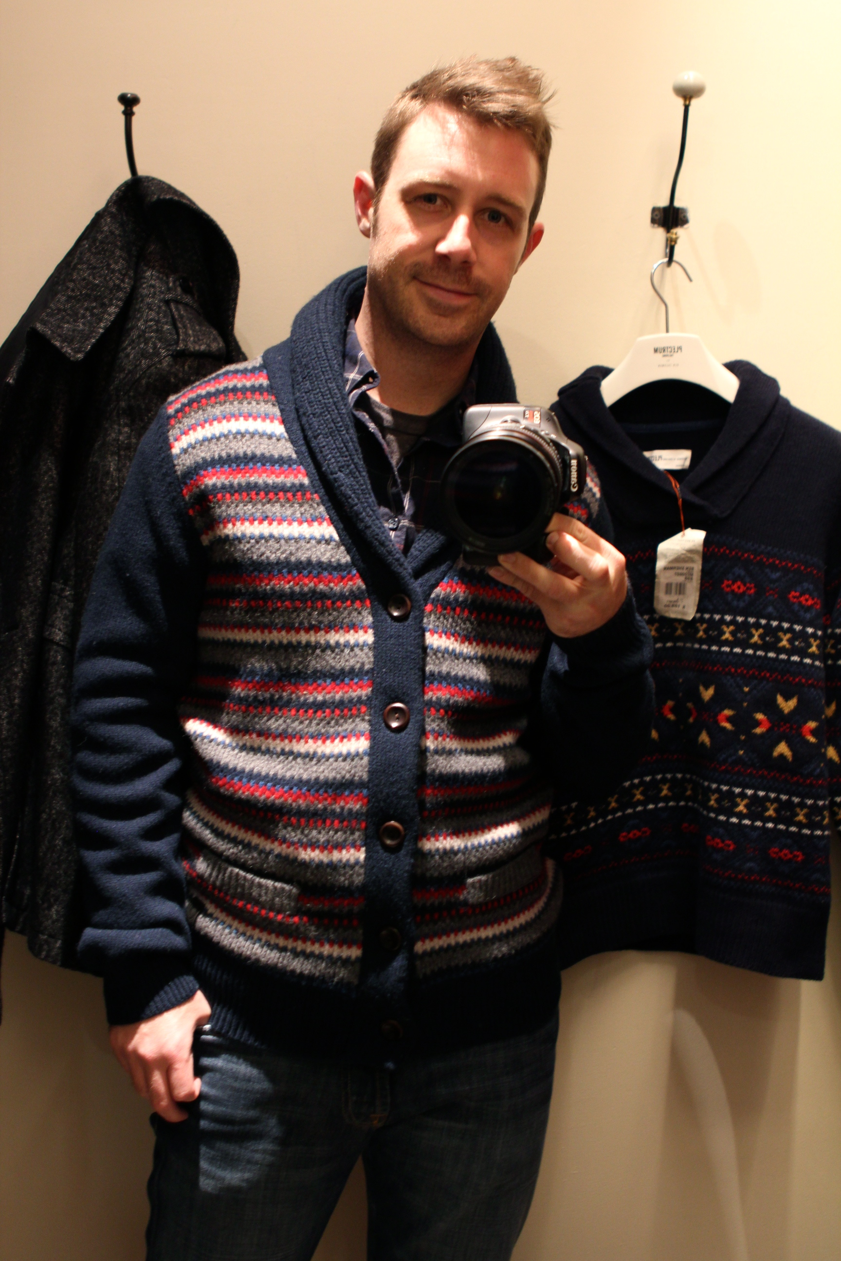 Ugly Christmas Cardigan also Goes Mainstream