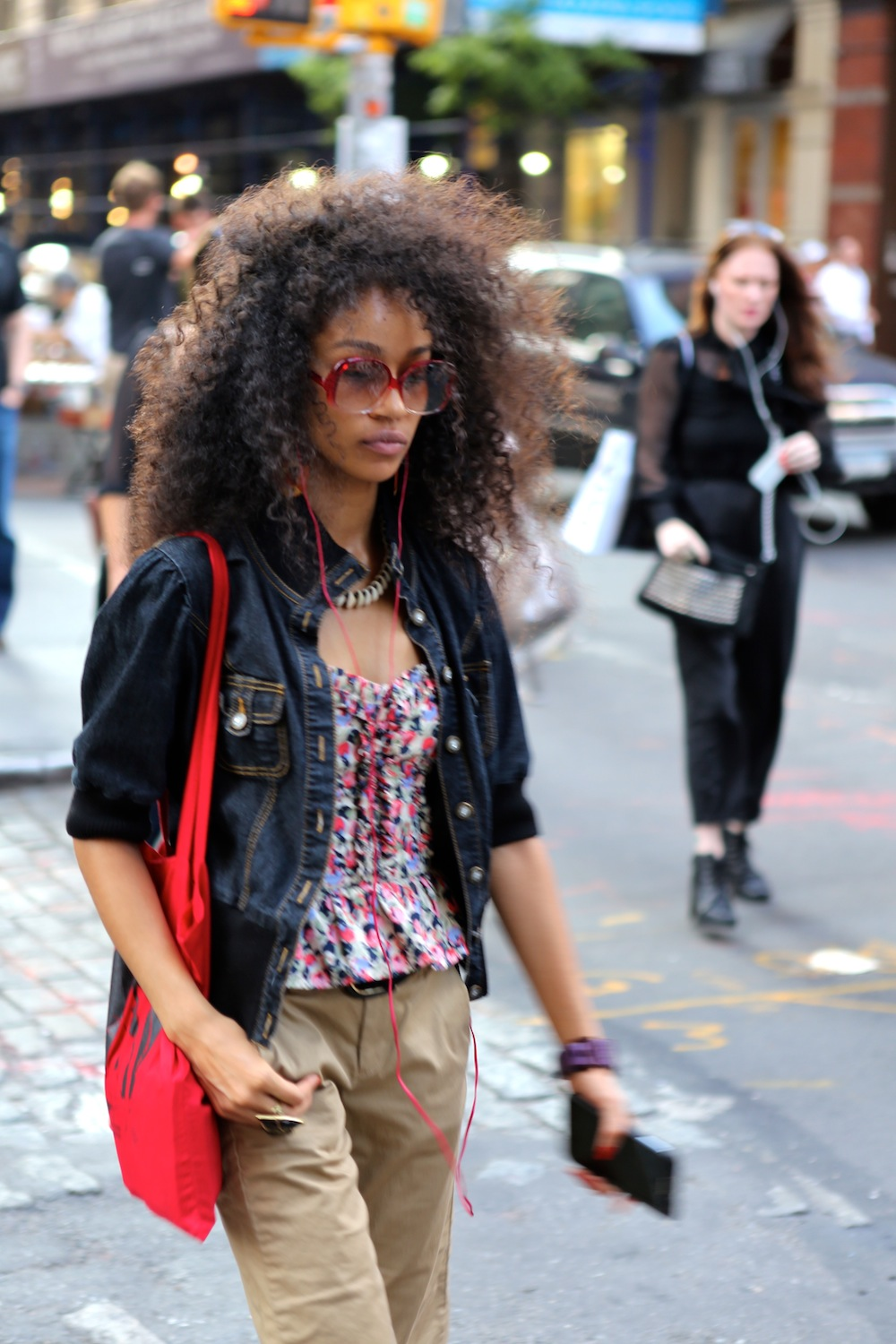 Hair In Style: NYC Street Style Fashion: Big Hair